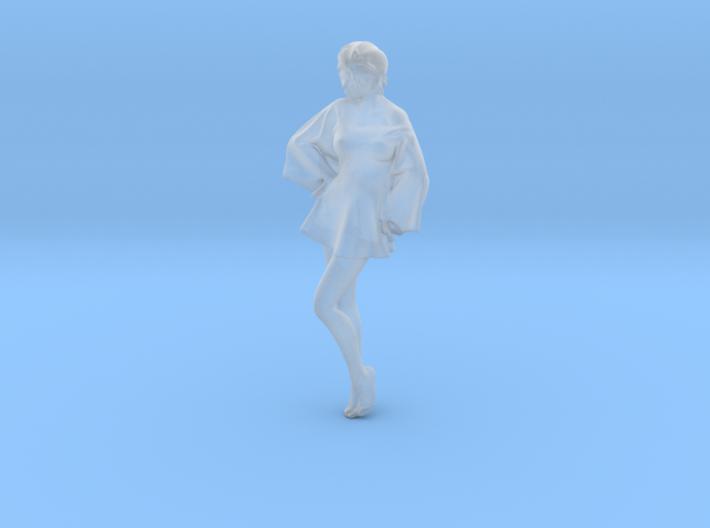 Skirt Girl-005-scale 1/32 3d printed