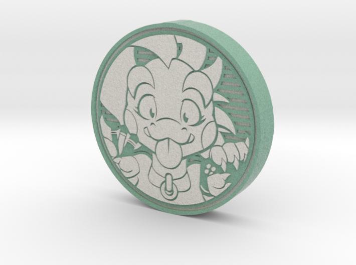 Lizardcoin 3d printed