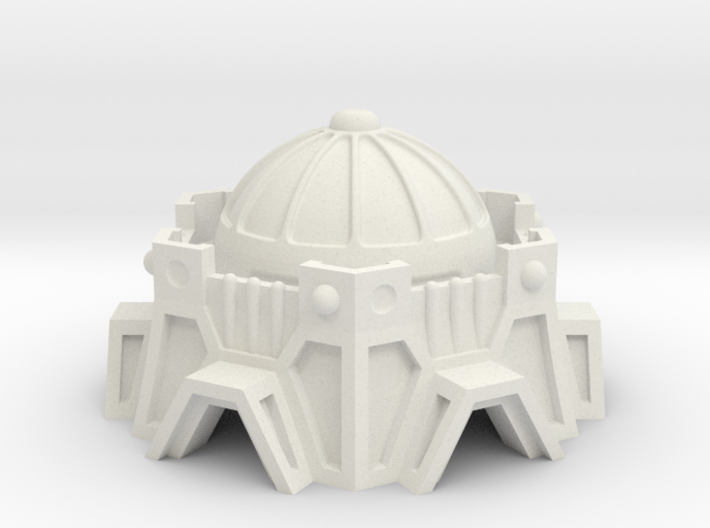 Sci-Fi Fort / Temple 3d printed