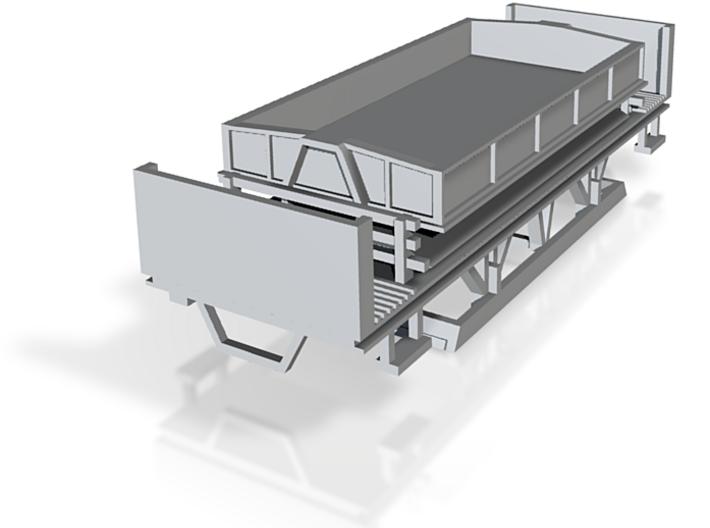Wiener Straßenbahn Arbeitsbeiwagen ko 3d printed