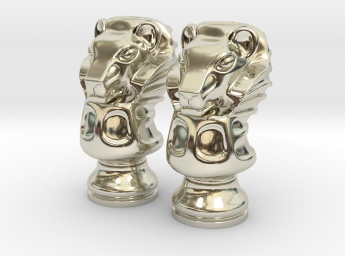 Pair Lion Chess Big / Timur Asad Piece 3d printed
