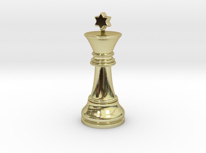 Single Chess King Star Big | Timur Prince Vizir 3d printed
