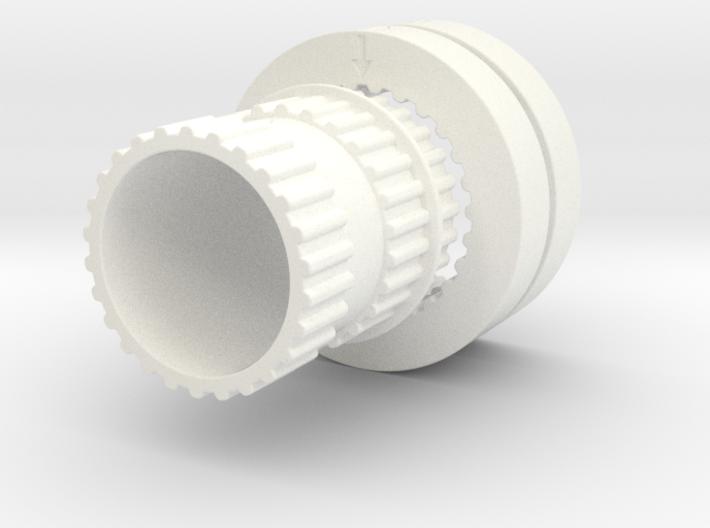 Grinder Gears 3d printed