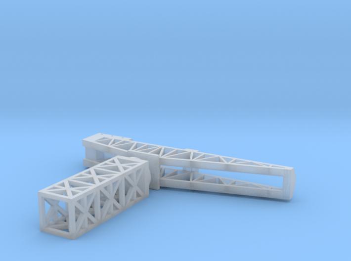 Hammerkran Dockside Crane 1/1800 3d printed