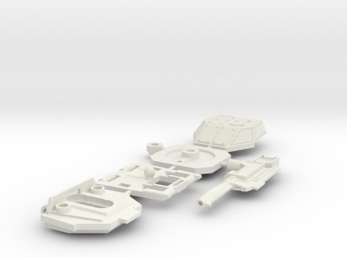 Brawl - Chest (Set 2 of 5) 3d printed
