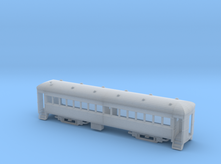 Assembled Nn3 Brill Trailer Coach 3d printed