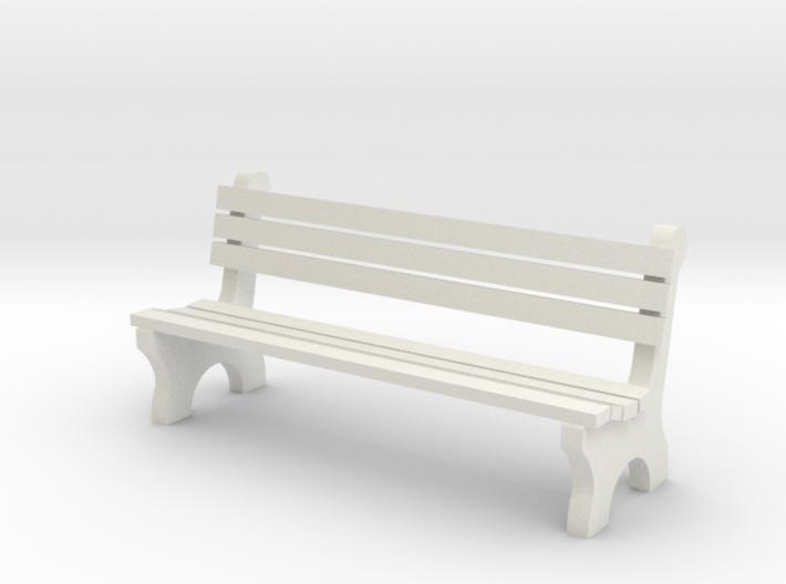 6' Park Bench 1:48 3d printed