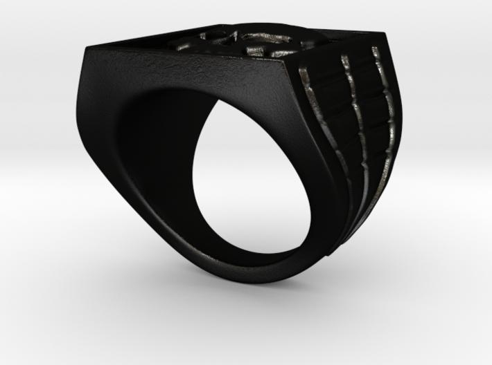 Ring Skull 3d printed