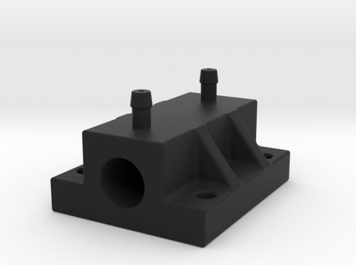 8 mm pitot flange 3d printed