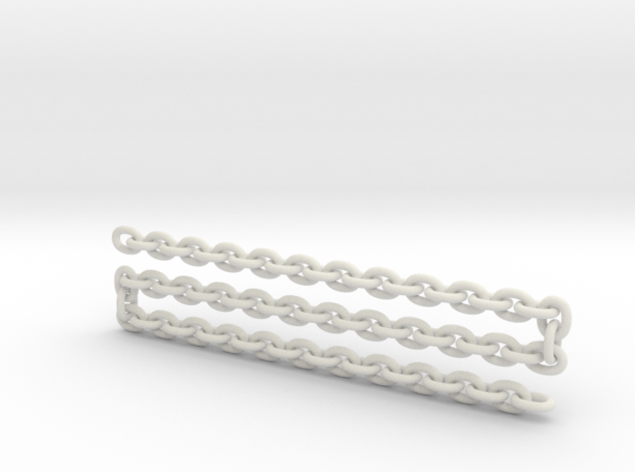 Scale log chain  3d printed