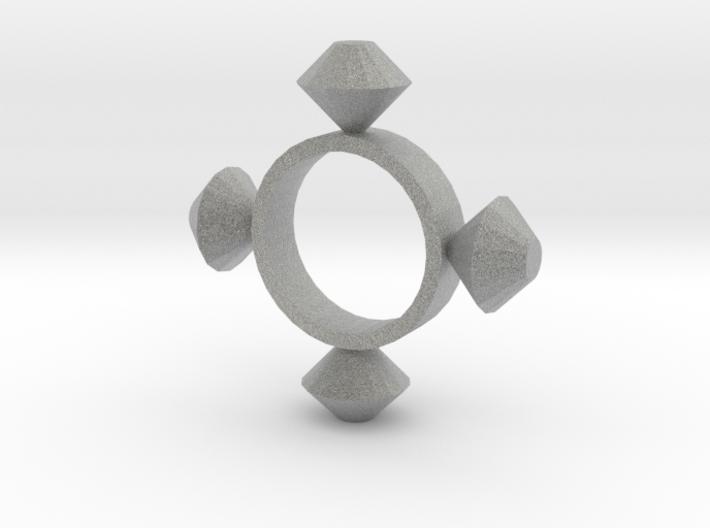 Four Point Diamond 3d printed