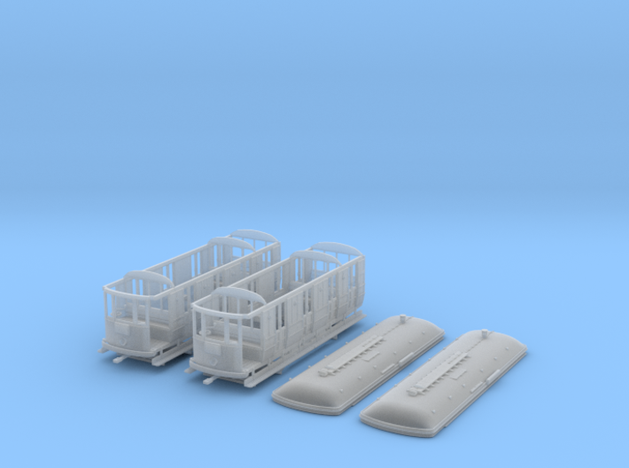 Sydney E class Tram - HO Scale 3d printed