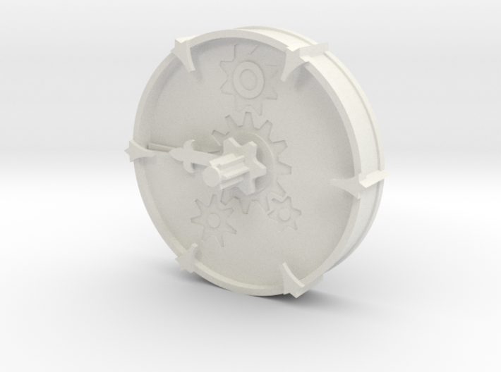 Cheese Wheel Clock (rotating) - Mice & Mystics 3d printed