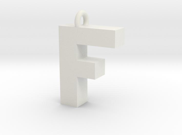 Alphabet (F) 3d printed Collection: Alphabet