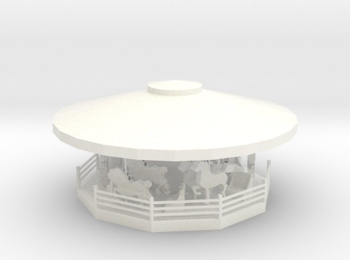 MerryGoRound - HO 87:1 Scale 3d printed