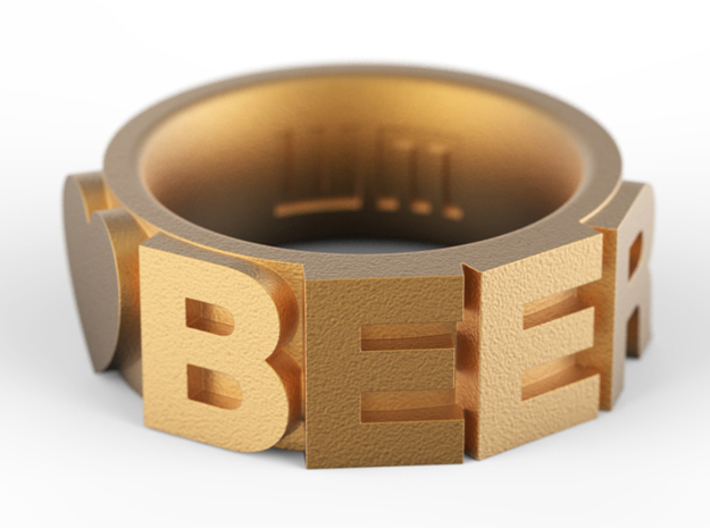Love Beer 3d printed Add a caption...