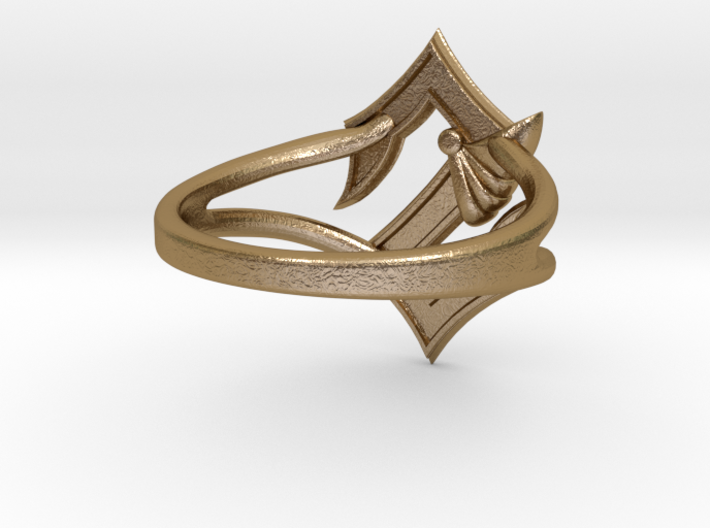 Sabaton Ring (female) 3d printed