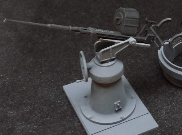 1:20 scale 20mm Oerlikon Set (WITH early Mk.4 Pede 3d printed 1:24 asy, painted