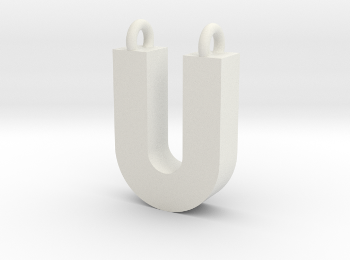 Alphabet (U) 3d printed Collection: Alphabet