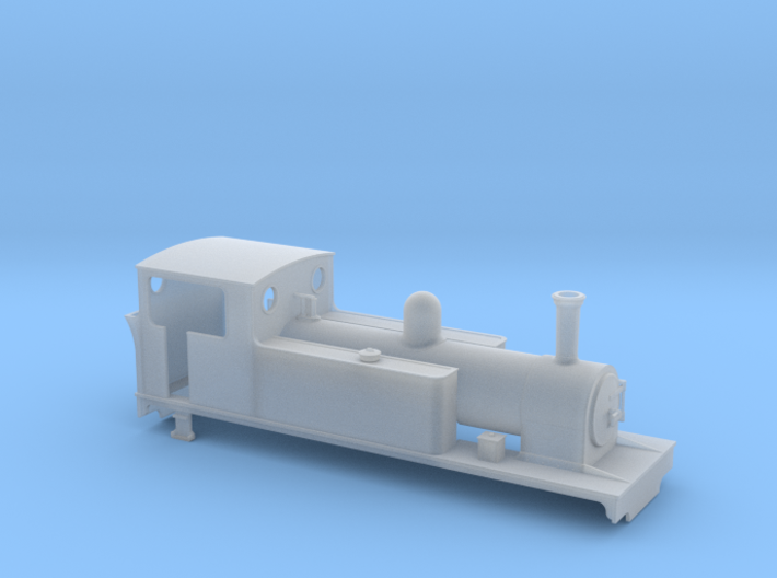 TTn3 LLSR Kerr Stuart 4-6-2T 3d printed