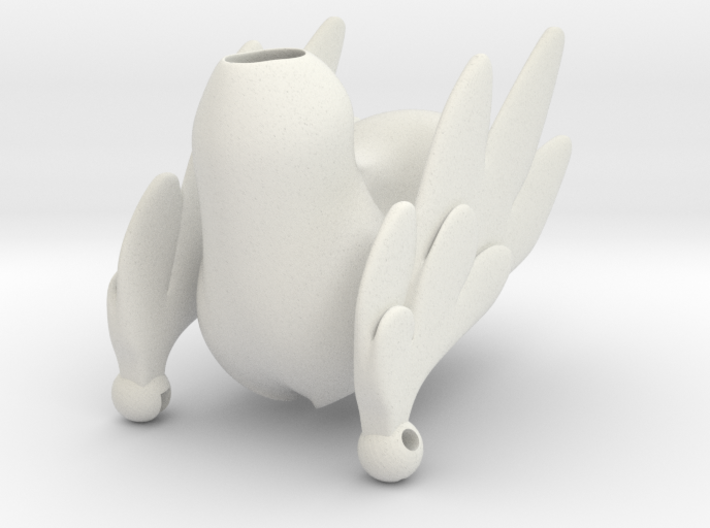 Pony Body with Wings 3d printed