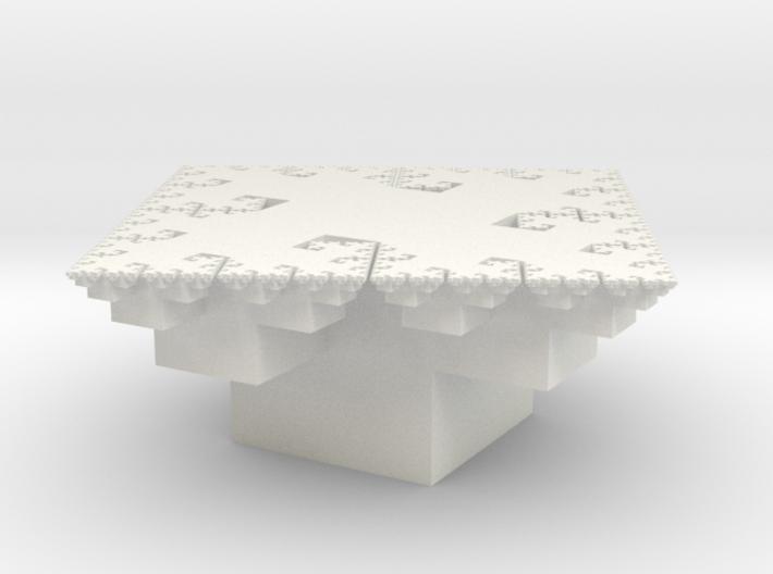 Fractal Arrangement of Cubes 3d printed