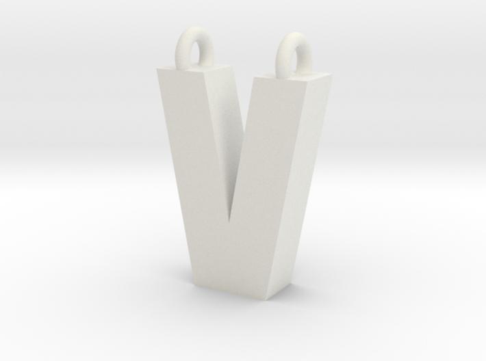 Alphabet (V) 3d printed Collection: Alphabet