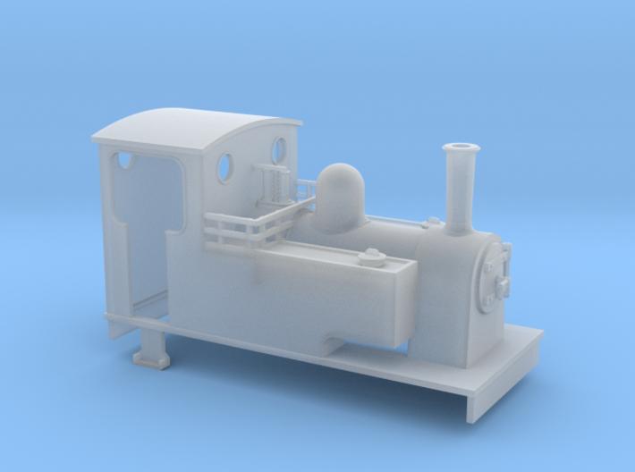 TTn3 Kerr stuart tank loco (short) 3d printed