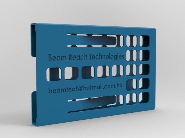 Business Card Case - Manually Customizable 3d printed Add a caption...