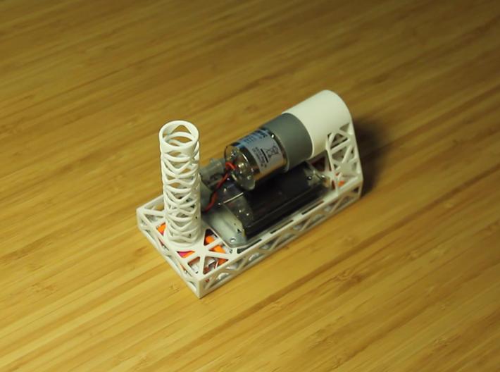 Brushr V3 3d printed