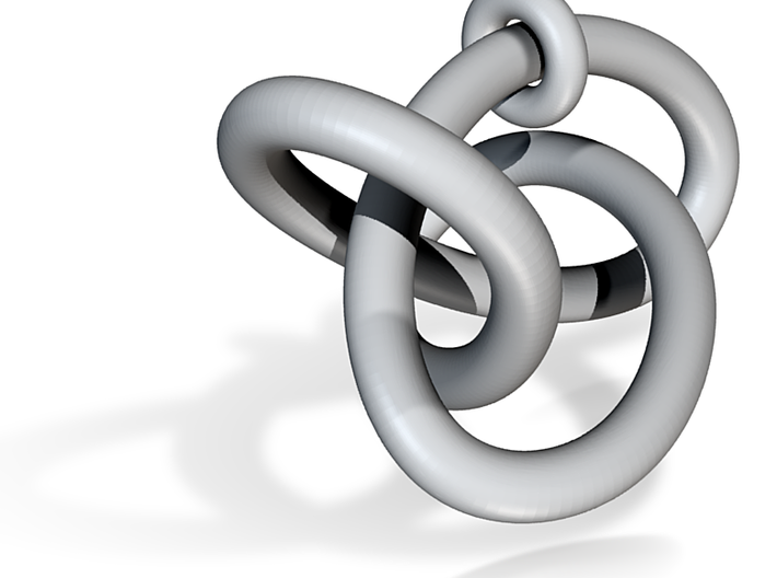 Figure8Knot And Sliding Torus 6 11 2015 3d printed