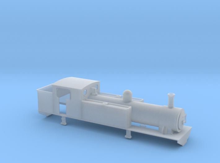 TTn3 CB&P 2-4-2T 3d printed