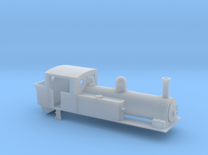 TTn3 West Clare dubs 0-6-2 3d printed