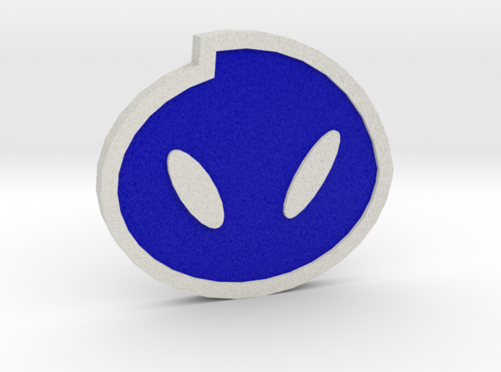 Fog Badge - Johto Pokemon Bagdes 3d printed
