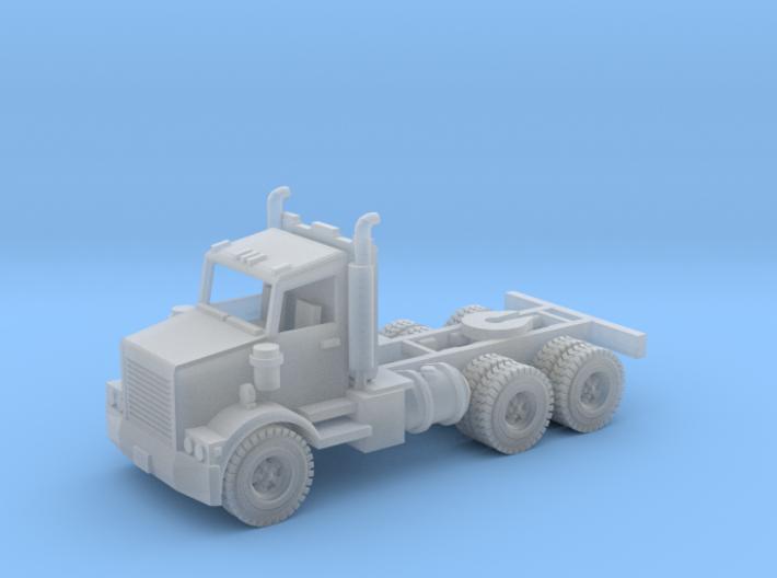 Semi Truck 1 Z Scale 3d printed