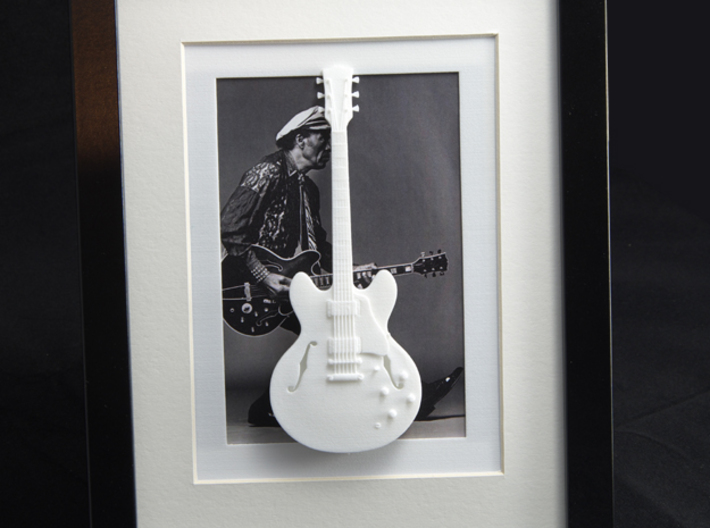Gibson ES 335 guitar for photo frame 3d printed Frames and background pictures are not included!!Gibson ES 335 with Chuck Berry