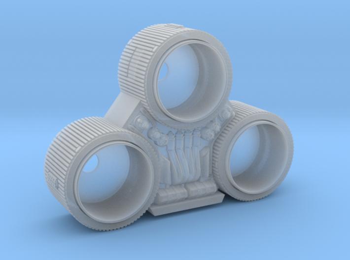 GALACTIKA REBELL SNYDER VIPER NOZZLES MINIATURE  3d printed