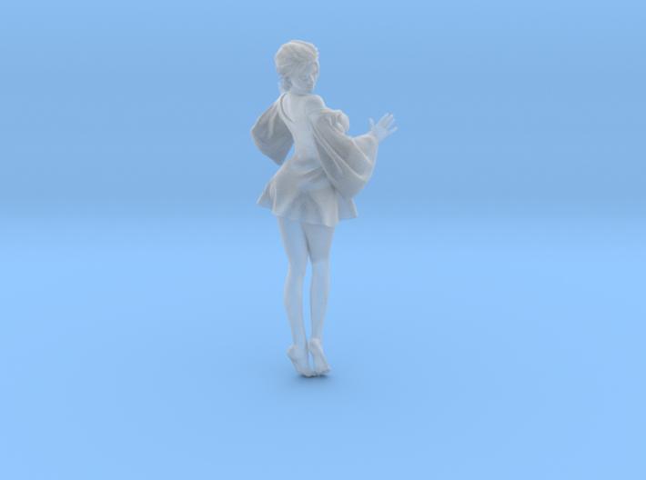 Skirt Girl-001 scale 1/24 3d printed