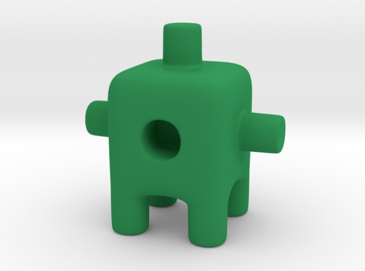 Tiny Cactus Ugly Friend 3d printed