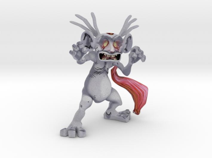 Red Troll 3d printed