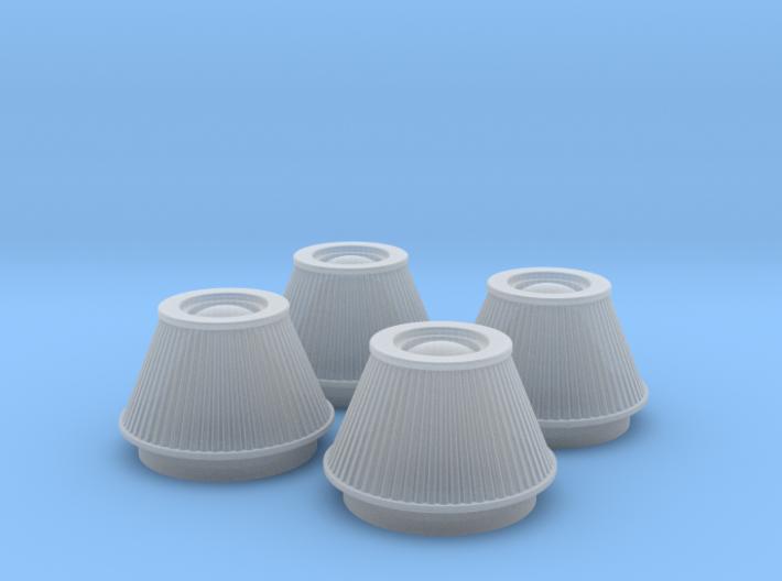 1/18 K&N Cone Style Air Filters TDR 4600 3d printed