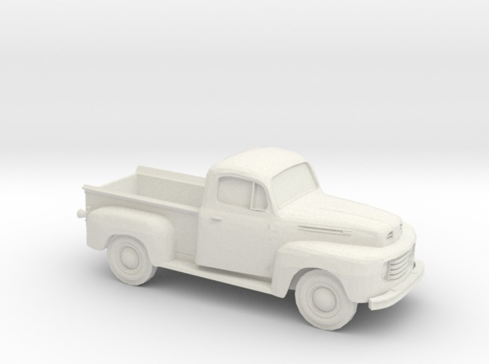 1948-52 Ford F Series Pickup 3d printed