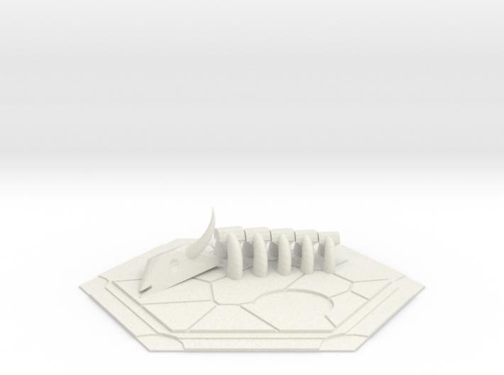 CATAN inspired Desert tile 3d printed