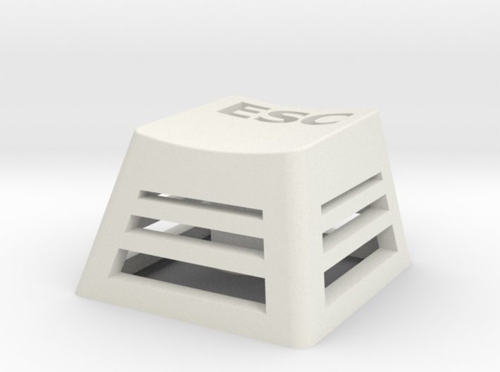 Backlit Escape Keycap (R4, 1x1) 3d printed