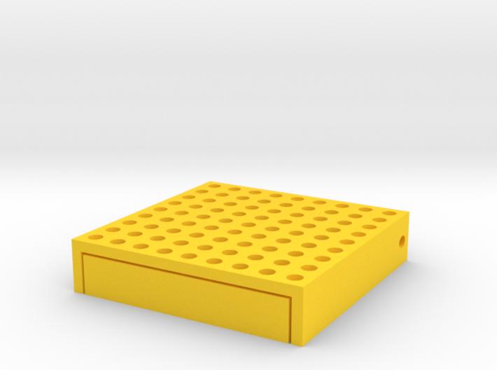 Mini Portable 9x9 Goban 3d printed