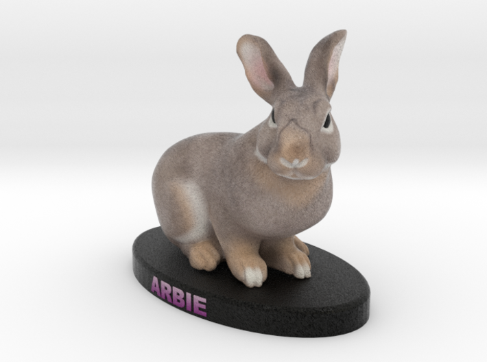 Custom Rabbit Figurine - Arbie 3d printed