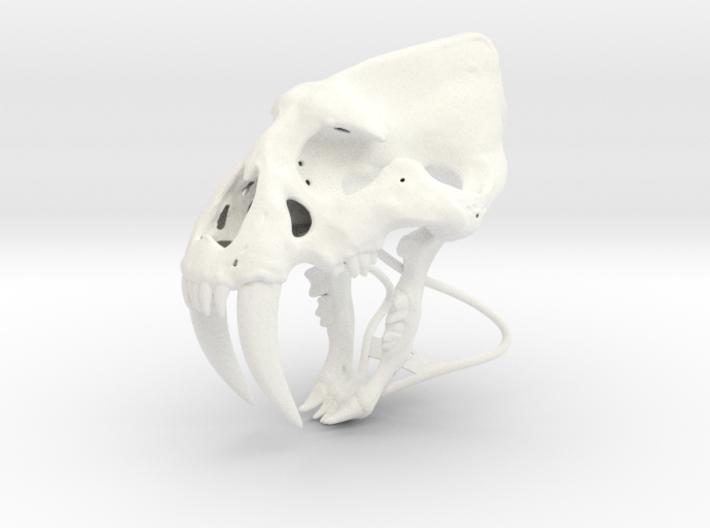 Saber Tooth 3d printed