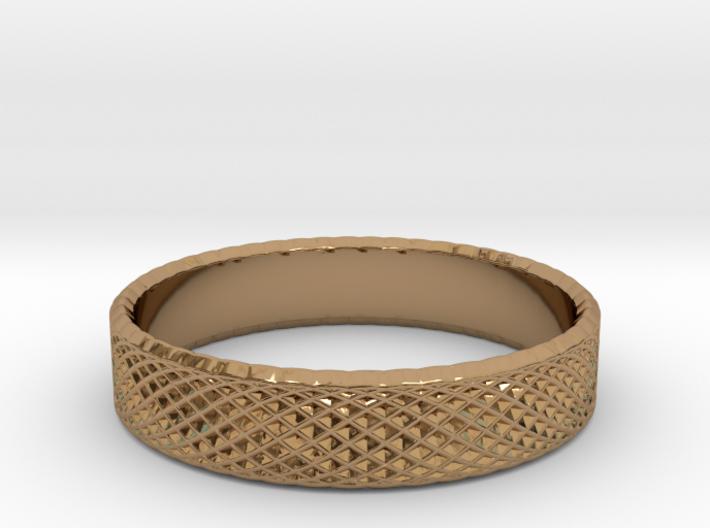 0218 Lissajous Figure Ring (Size11, 20.5 mm) #023 3d printed