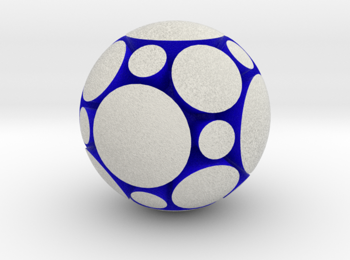 LuminOrb 1.3 - COMPASSION 3d printed Shapeways render of COMPASSION in Full Color Sandstone