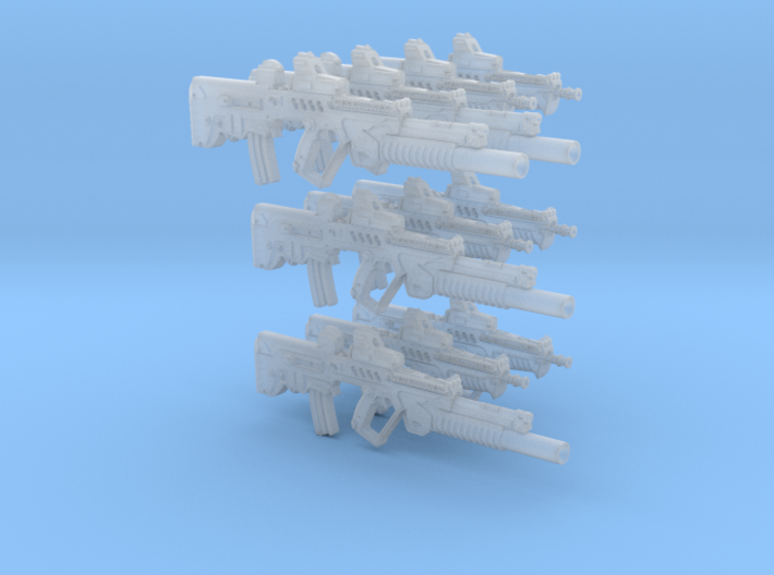 1-18 Ctar-Gtar 10 Units Tavor SET 3d printed